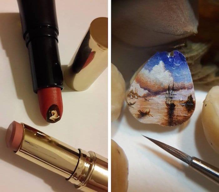 hasan-kale-miniature-paintings-lipstick