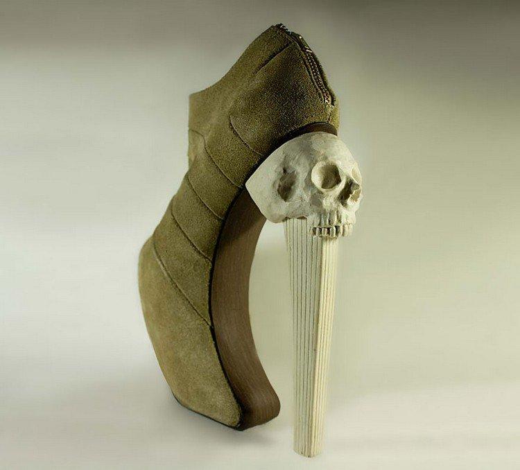 high skull heel
