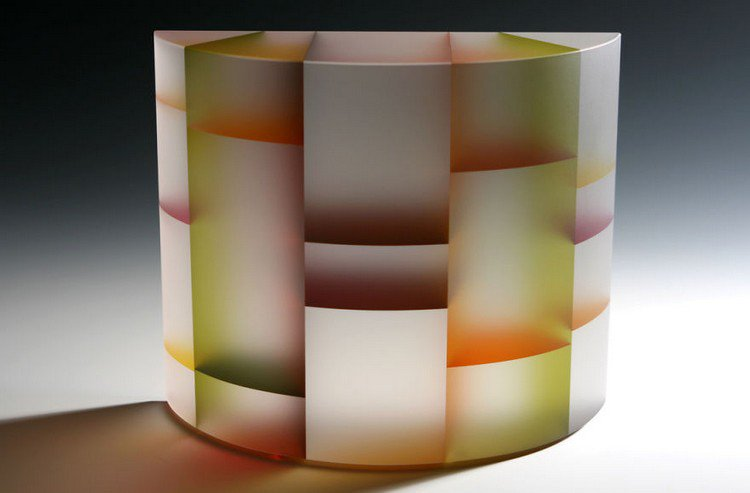 jiyong lee semi circular sculpture