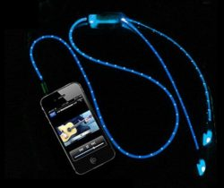 light up earphones