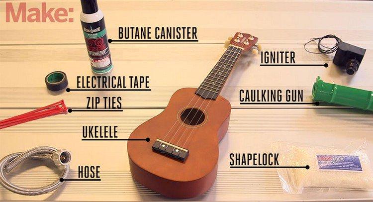 make ukulele