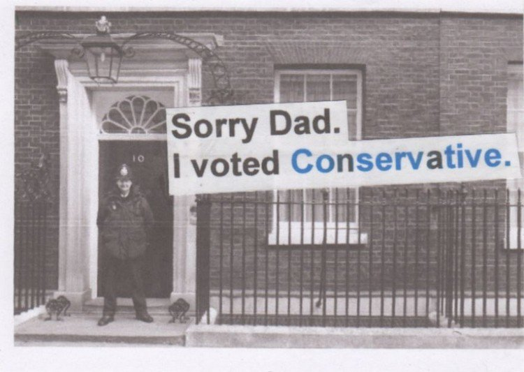 message voted conservative