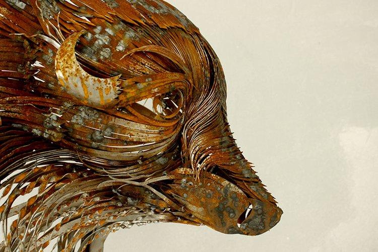 metal-animal-masks-fox-close