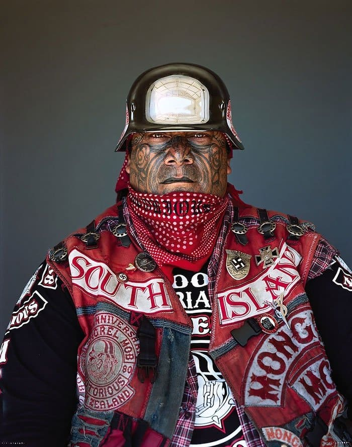 Portraits Of Some Of New Zealand S Toughest Gang Members