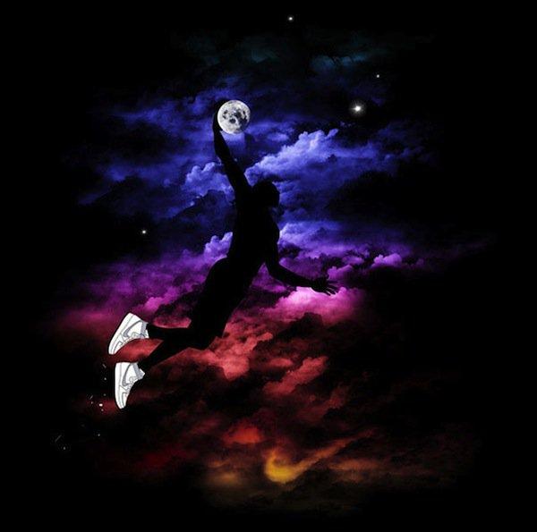 moon-dunking