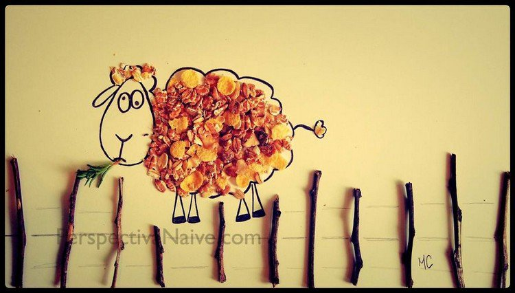 muesli sheep