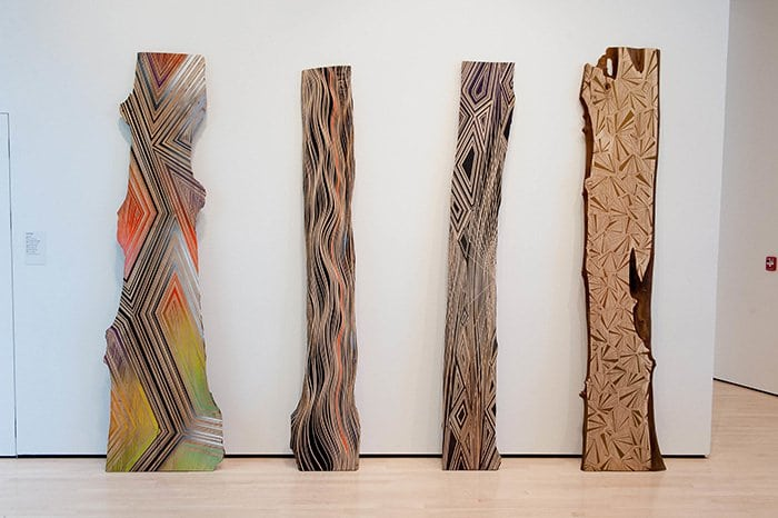painted planks