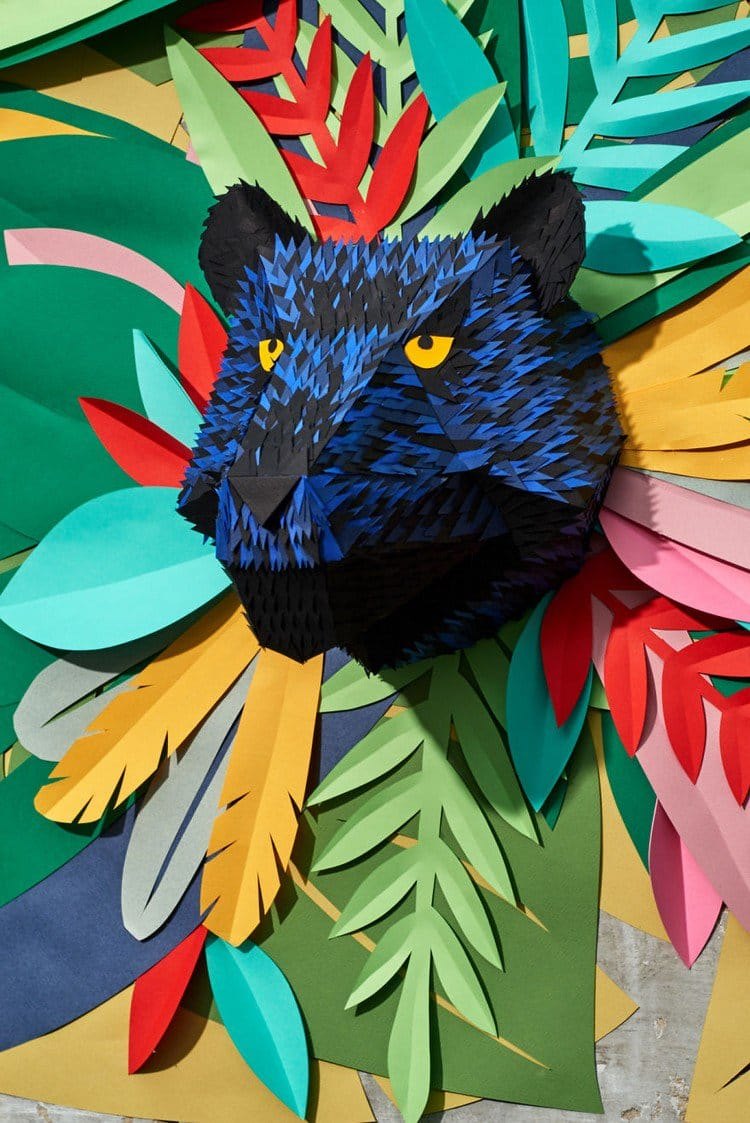 paper panther 3D
