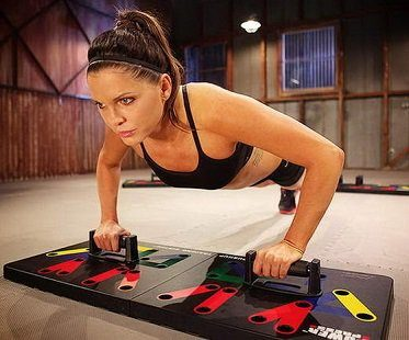 push up training system girl