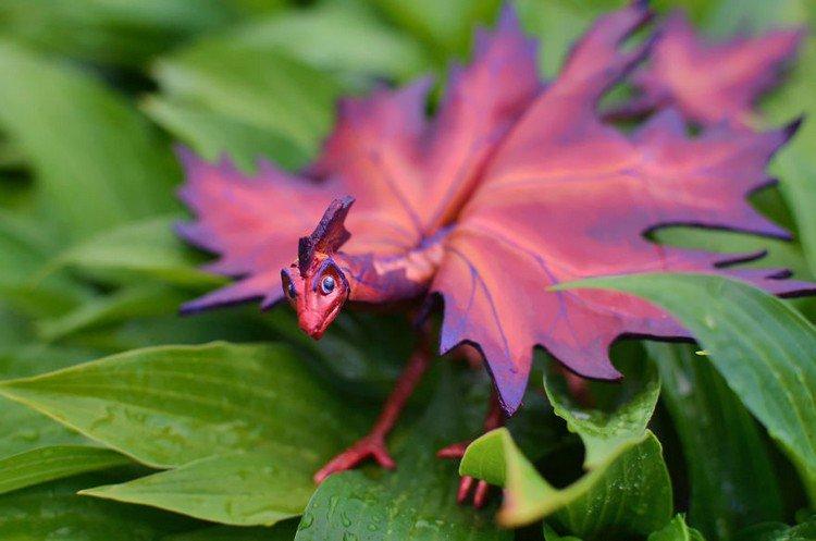 red leaf dragon
