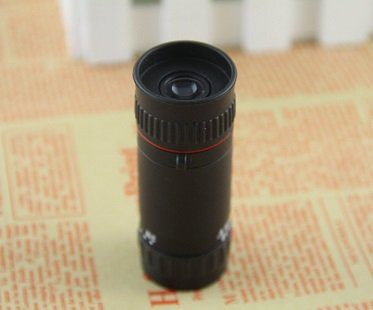 reverse peephole viewer scope black