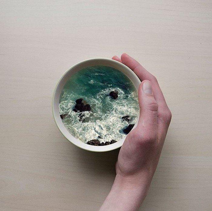 rocks water cup