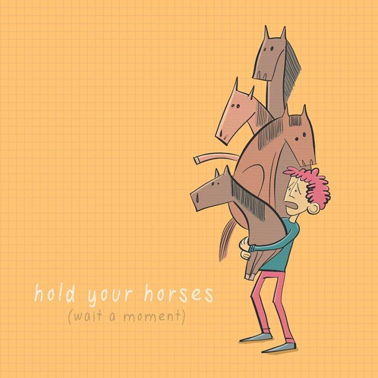 Roisin Hahessy Illustrates English Idioms With Hilarious