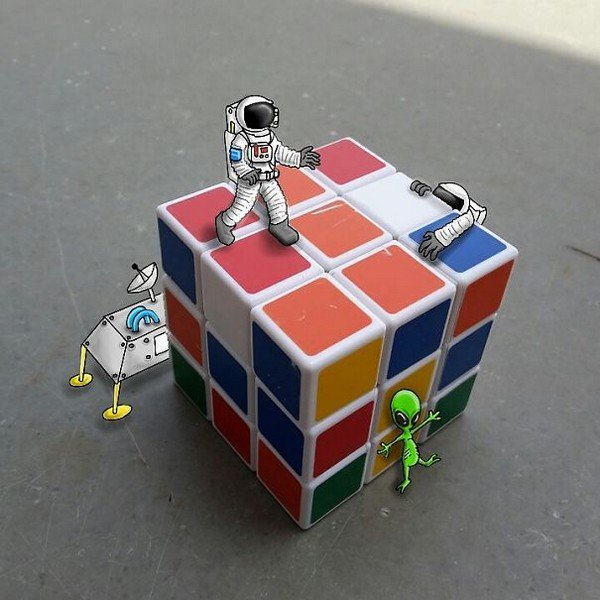 rubic cube space