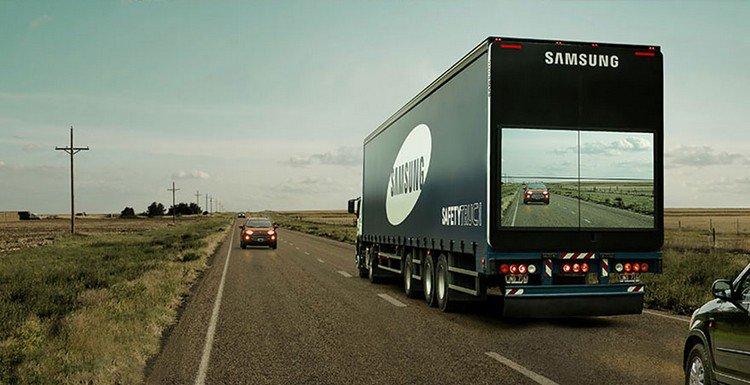 samsung truck screen