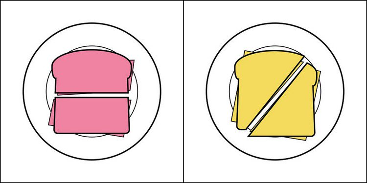 sandwich sliced