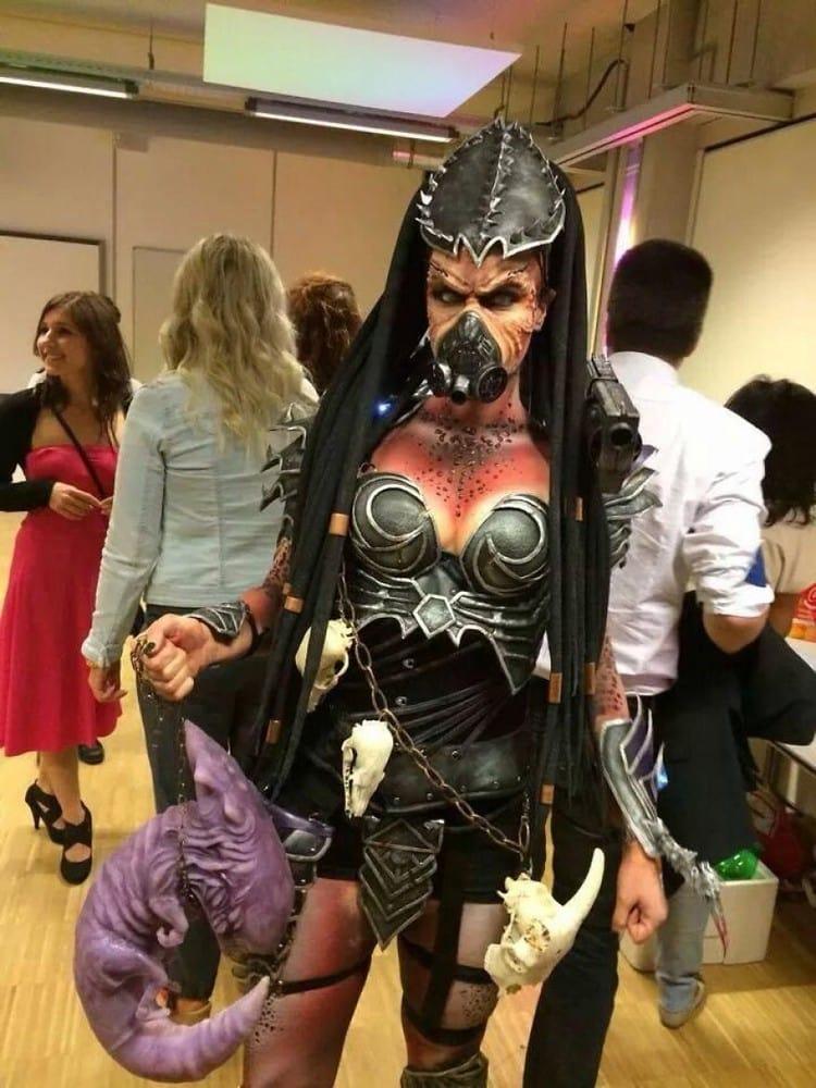 scary fantasy woman