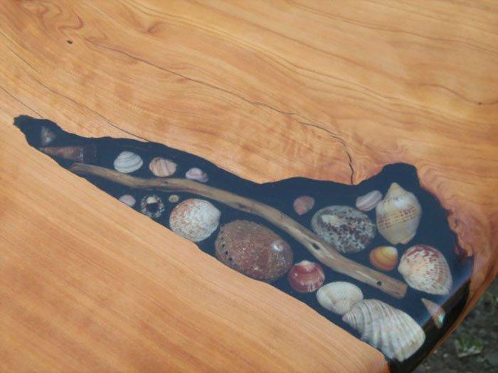shells stick table