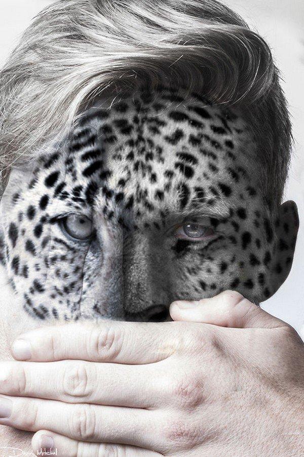 snow leopard man