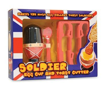 soldier egg cup and toast cutter box