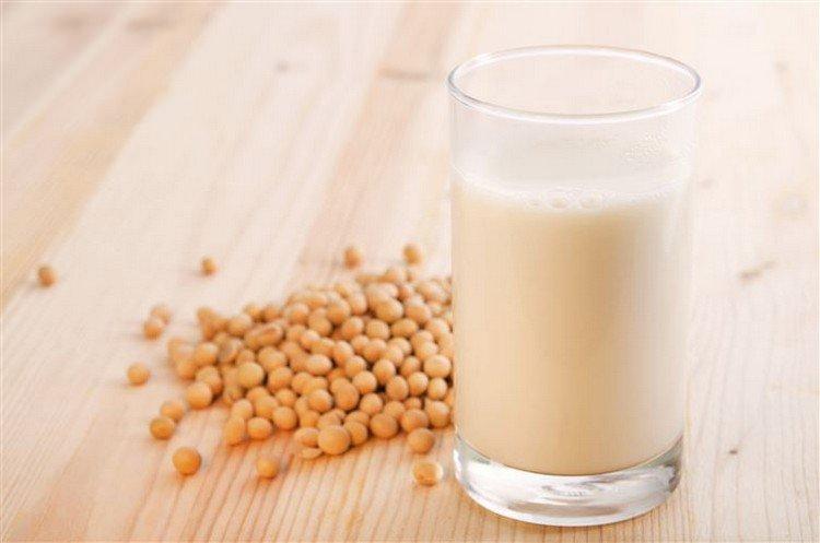 soy beans milk