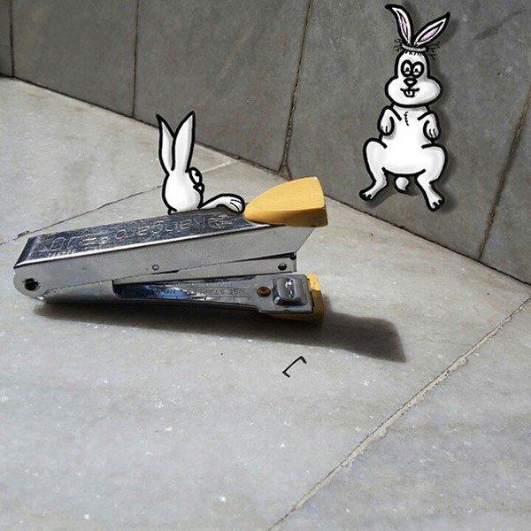 stapler bunnies