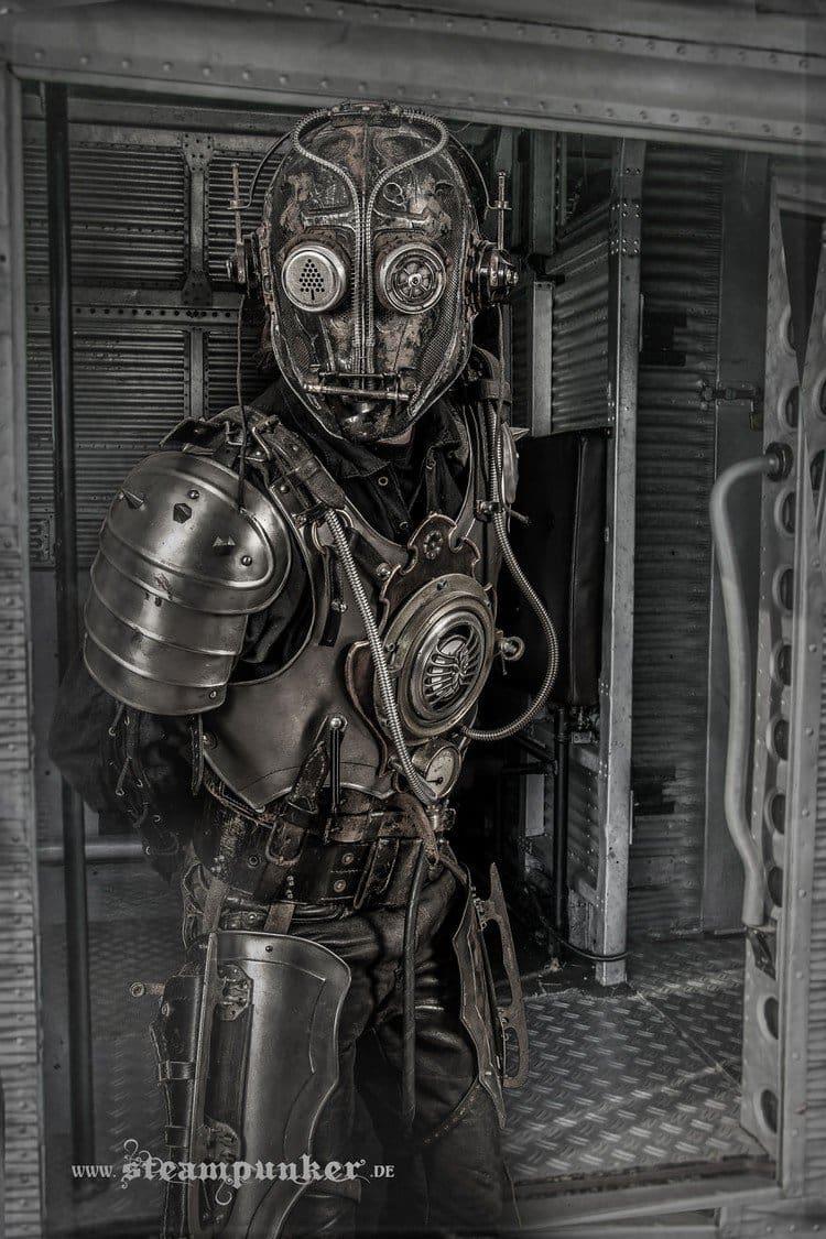 Steampunk costume armor