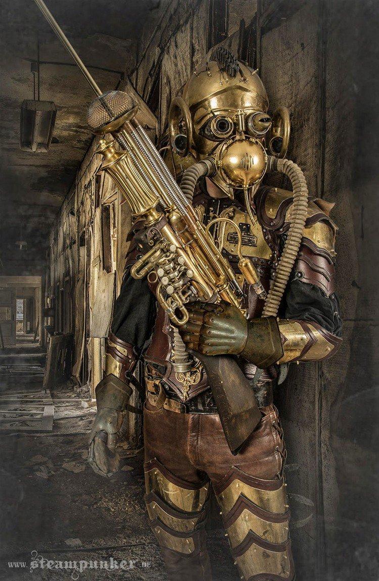 steampunk costume gun