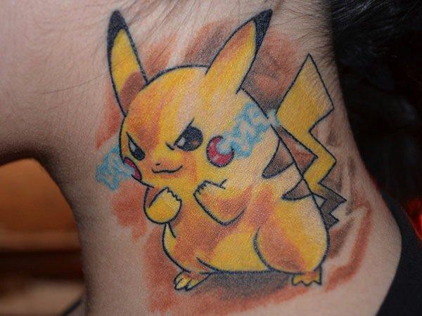 tattoo-pikachu