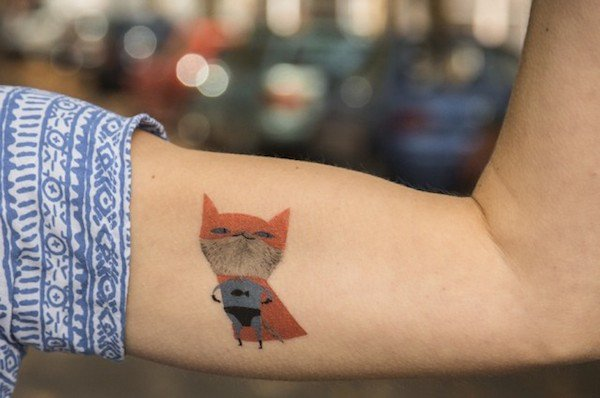 Awesome Temporary Tattoos For The Needlephobic Or Indecisive