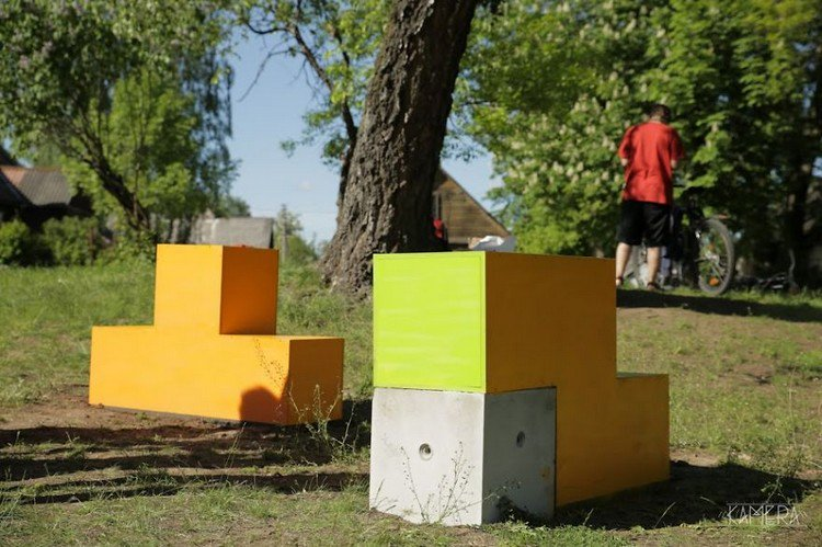 tetris furniture ground