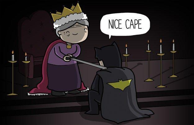 the dark knighting
