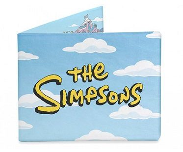 the simpsons intro wallet