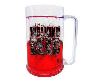 the walking dead freezable mug