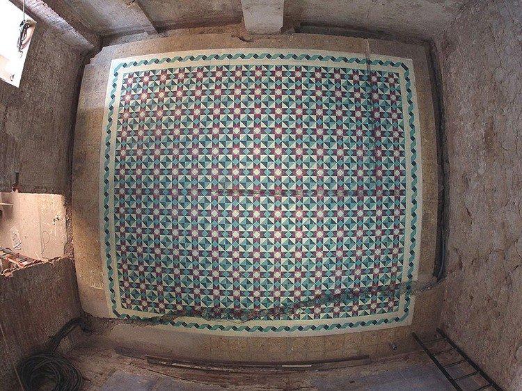 tile type pattern