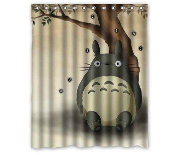 totoro shower curtain my neighbour