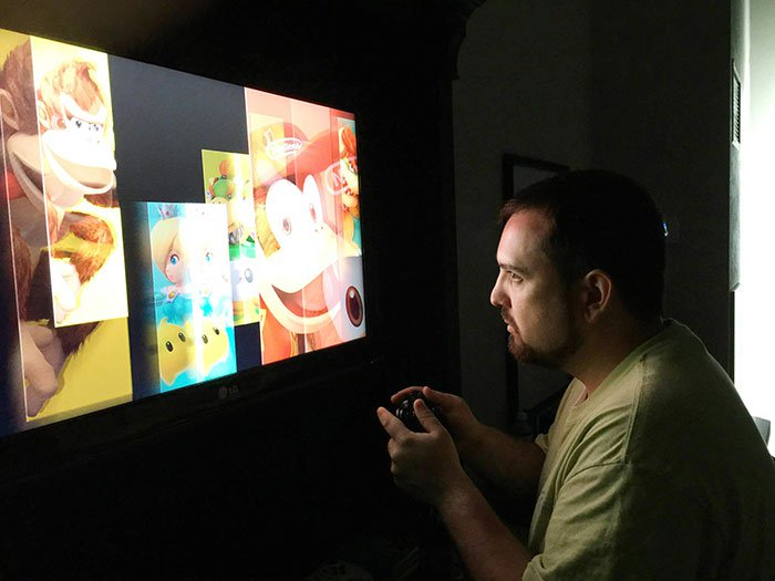 unhappy gamer