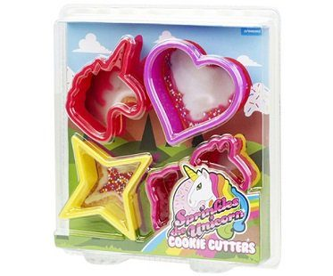 unicorn cookie cutters pack