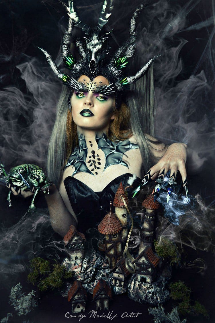 Candy Make Up Artist Creates The Amazing Fantasy Style