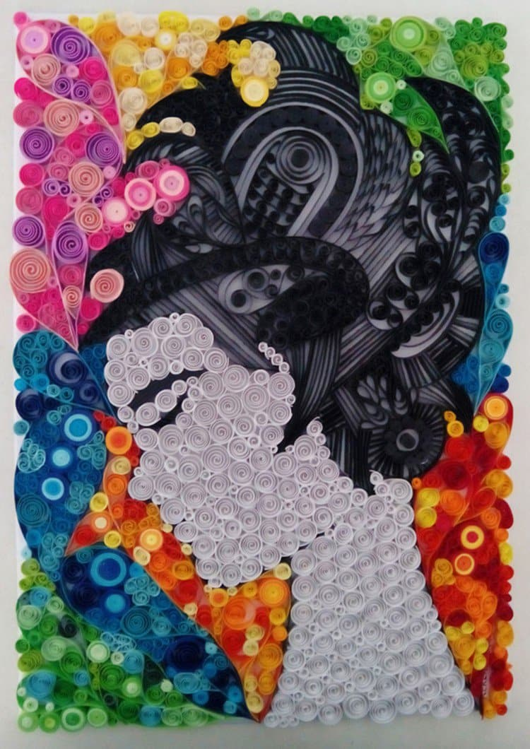 Ayobola Kekere Ekun Creates Awesome Artworks Made Entirely