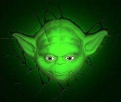 yoda night light yoda