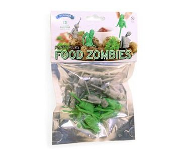 zombie party picks food pack