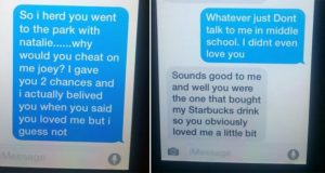 11-Year-Olds Break Up Text