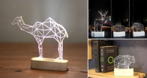 Abstract Animal Night Lights
