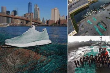 Adidas Makes Shoes From Ocean Rubbish And Nets