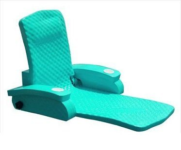 Adjustable Pool Recliner teal