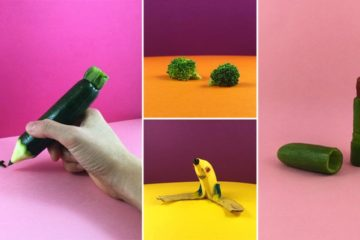 Art Created With Everyday Objects And Food