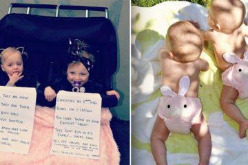 Aussie Mom FAQ Signs For Twins