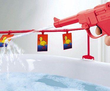 Bathroom Duck Shoot Game