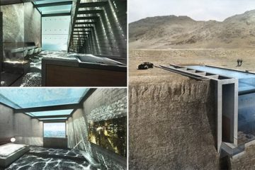 Casa Brutale House Built Into Cliff